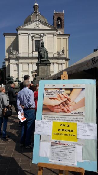 #ConDividiamo - Famiglie in piazza a Desio