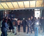 Refettorio Ambrosiano: giornalisti in visita al cantiere