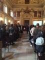 La Sala Alessi di Palazzo Marino accoglie i giovani che iniziano il servizio civile