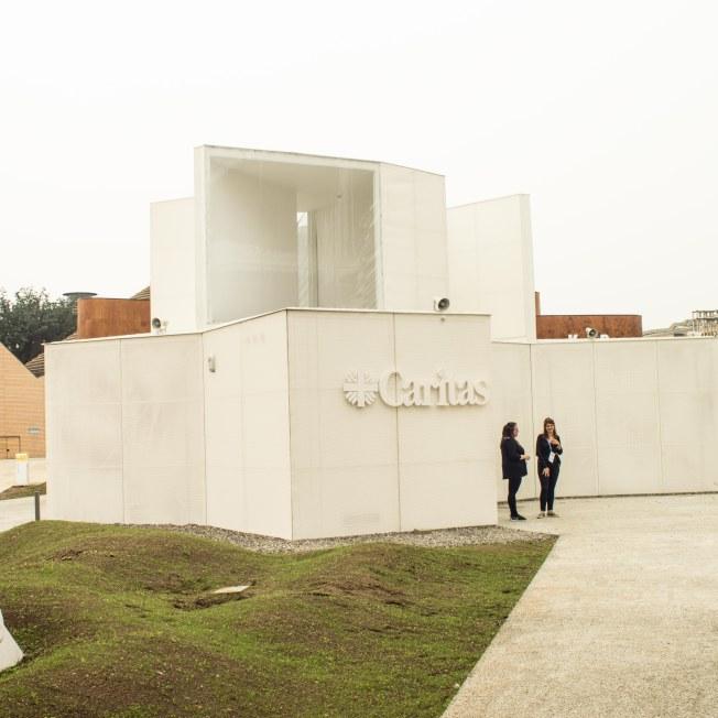 L'esterno dell'Edicola