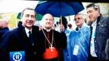 giorno1- All'apertura di Expo, Giuseppe Sala, card. Gianfranco Ravasi e Luciano Gualzetti
