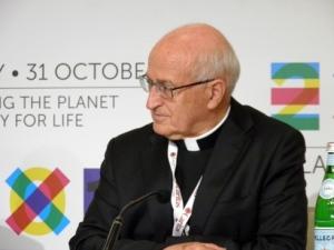 Monsignor Luigi Bressan, presidente di Caritas Italiana