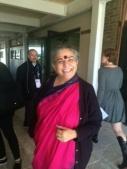L'economista e attivista indiana Vandana Shiva