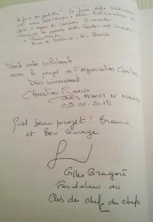 Il vescovo di Estancia, Brasile, e lo chef del Principato di Monaco