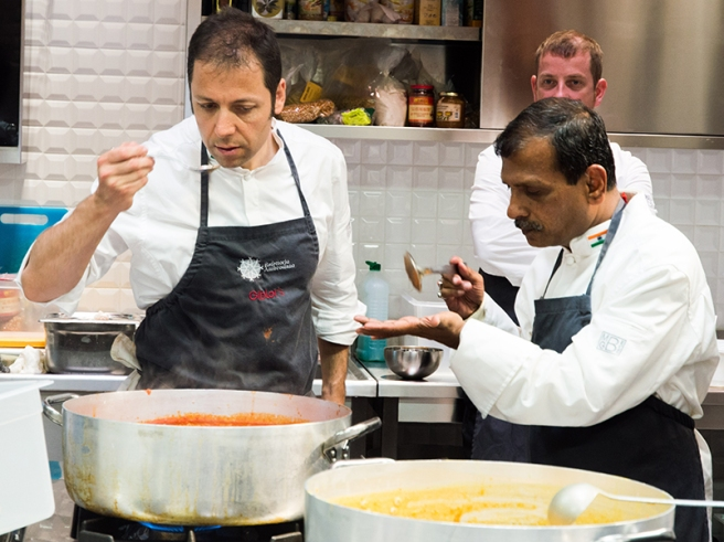Fabrizio Boca, a sinistra nella foto