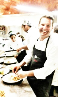 Lo chef David Hertz
