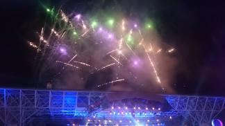 I fuochi della festa di Expo2015